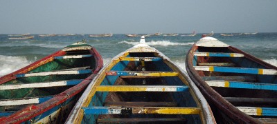 Cayucos (Kayar fishing village, Senegal)
