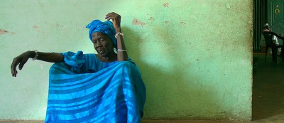 One of the several wives of the village chief (Kayar, Senegal)