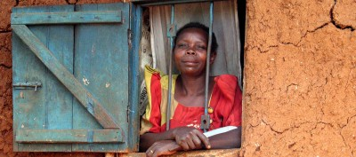 Village Lady (outskirts of Kampala, Uganda)