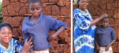 Mom and Son (Village, UGANDA)