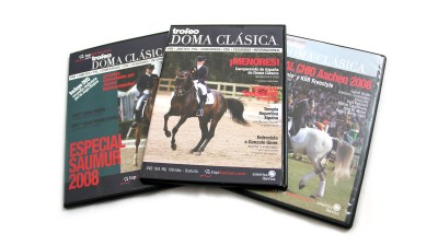 DVD covers // CLIENT: Trofeo DOMA CLÁSICA & TOPIBERIAN S.L.