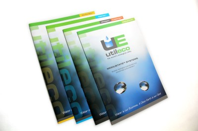 Brochure Design – cover // CLIENT: UTILECO España S.L.