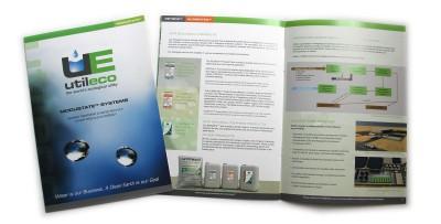 Brochure Design – spread // CLIENT: UTILECO España S.L.