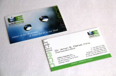 Business Cards // CLIENT: UTILECO España S.L.