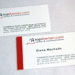 Business Cards TOPIBERIAN S.L.