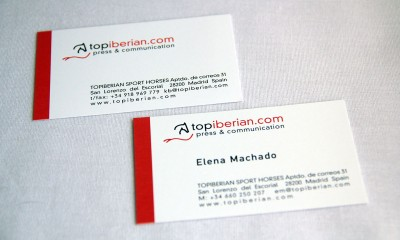 Business Cards // CLIENT: TOPIBERIAN S.L.