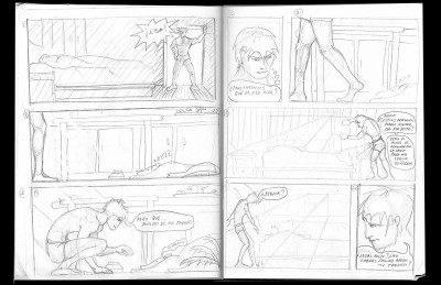 Storyboard: La Peste / Frame 3