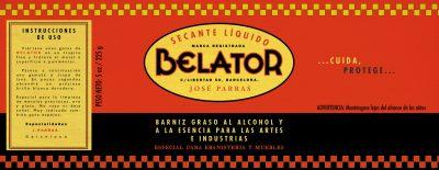 Label: Secante liquido BELATOR | Film: Palmeras en la Nieve | 2016 © Nostromo Pictures S.L.