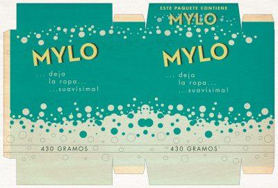 Label: detergente en polvo MYLO | Film: Palmeras en la Nieve | 2016 © Nostromo Pictures S.L.