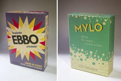 Product Packaging: Detergente en polvo EBBO y MYLO | Film: Palmeras en la Nieve | 2016 © Nostromo Pictures S.L.
