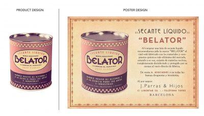 Product & Poster Design: Secante BELATOR | Film: Palmeras en la Nieve | 2016 © Nostromo Pictures S.L.