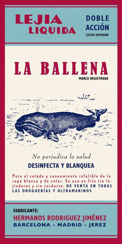 Poster: Lejía LA BALLENA | Film: Palmeras en la Nieve | 2016 © Nostromo Pictures S.L.
