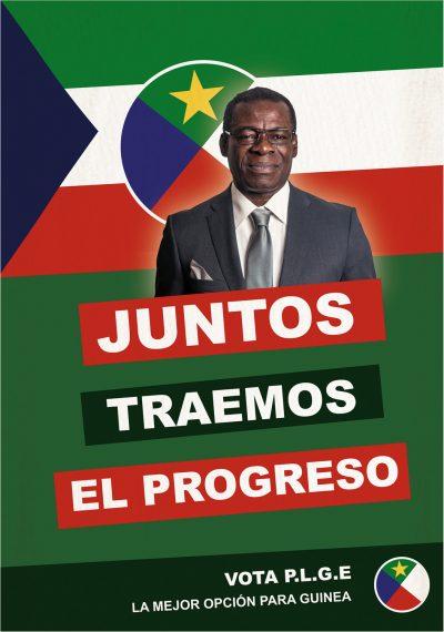 Poster: Obiang 2003 – elecciones 01 | Film: Palmeras en la Nieve | 2016 © Nostromo Pictures S.L.