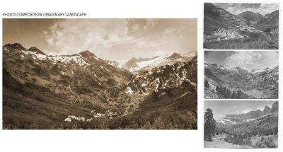 Photo-compositing: Pueblo de Pasolobino | Film: Palmeras en la Nieve | 2016 © Nostromo Pictures S.L.